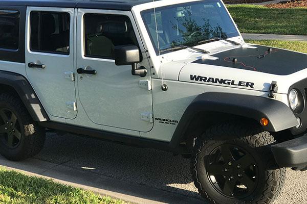 Florida Jeep Rental Weekly Deal